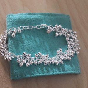 "Bracelet.925.silver.New! Sz-7"""
